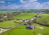 rural english farming town of Ashwater