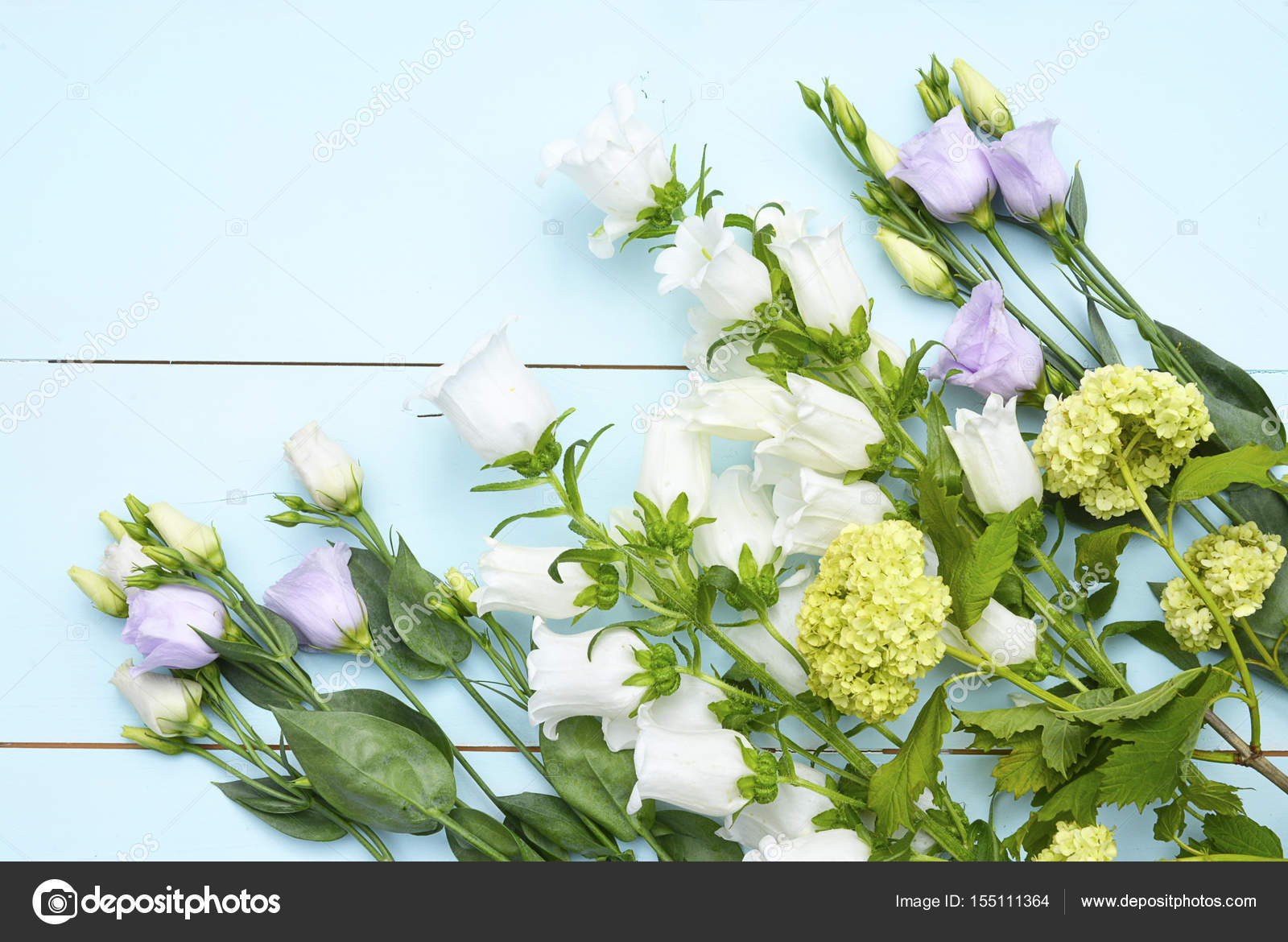 Vintage Aqua Green Blue Background With White Purple Lilac And