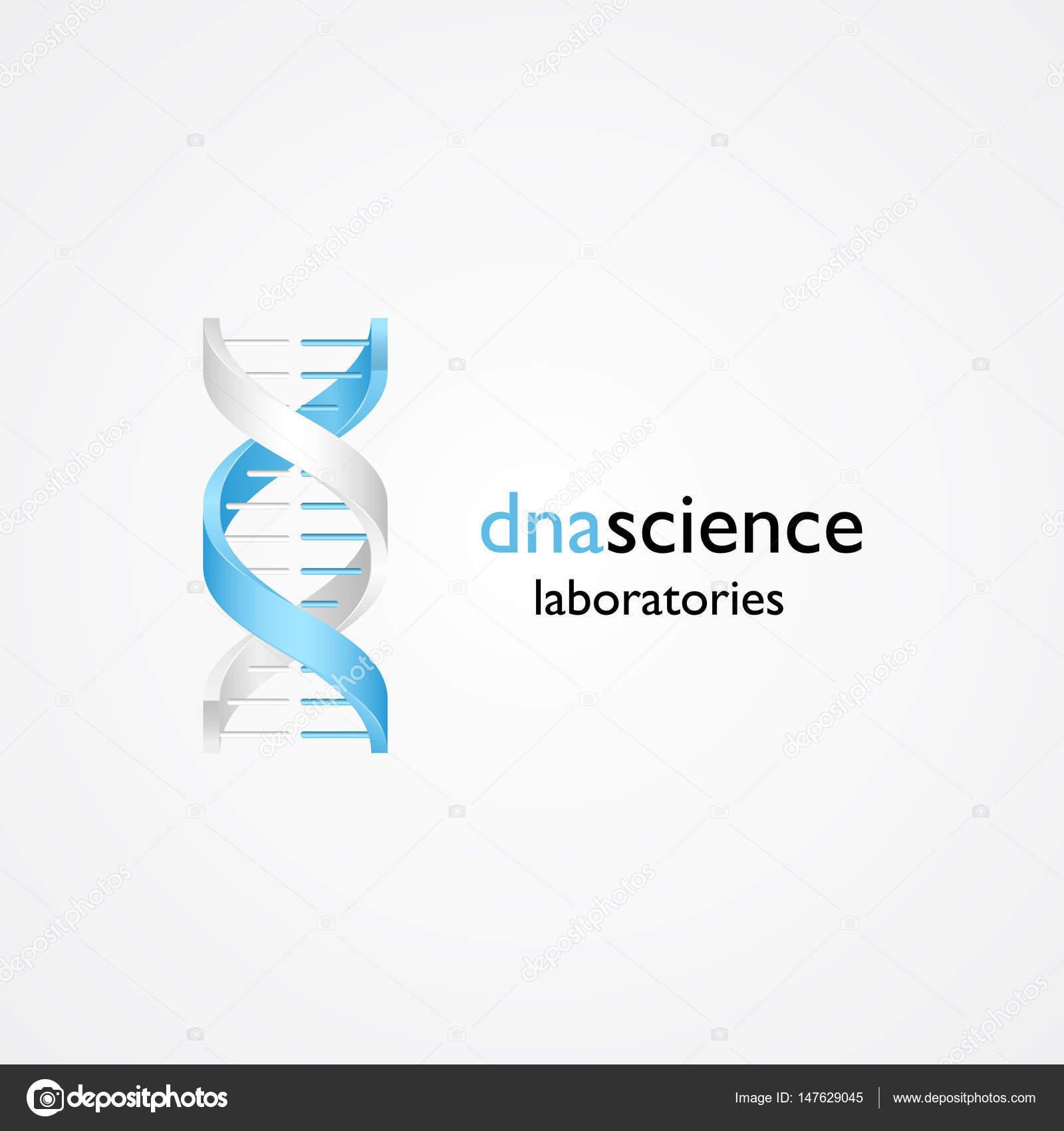 Human Dna Molecule Symbol Stock Vector Soloviika 147629045