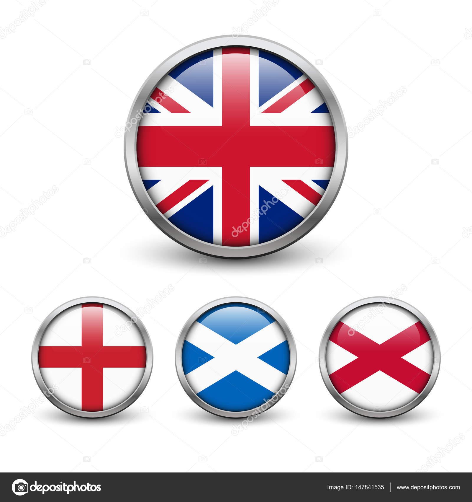 United Kingdom Flag England Scotland Ireland Union Jack Stock