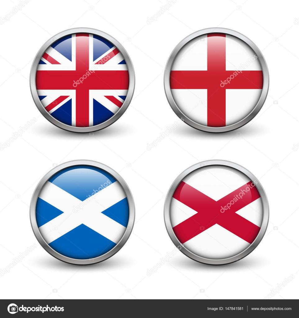 Bandera de Reino Unido - Inglaterra, Escocia, Irlanda. Union Jack ...