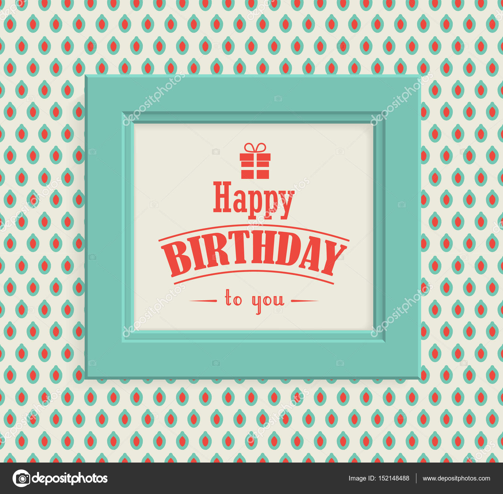 Happy birthday greeting card in vintage style stock vector happy birthday greeting card in vintage style stock vector m4hsunfo