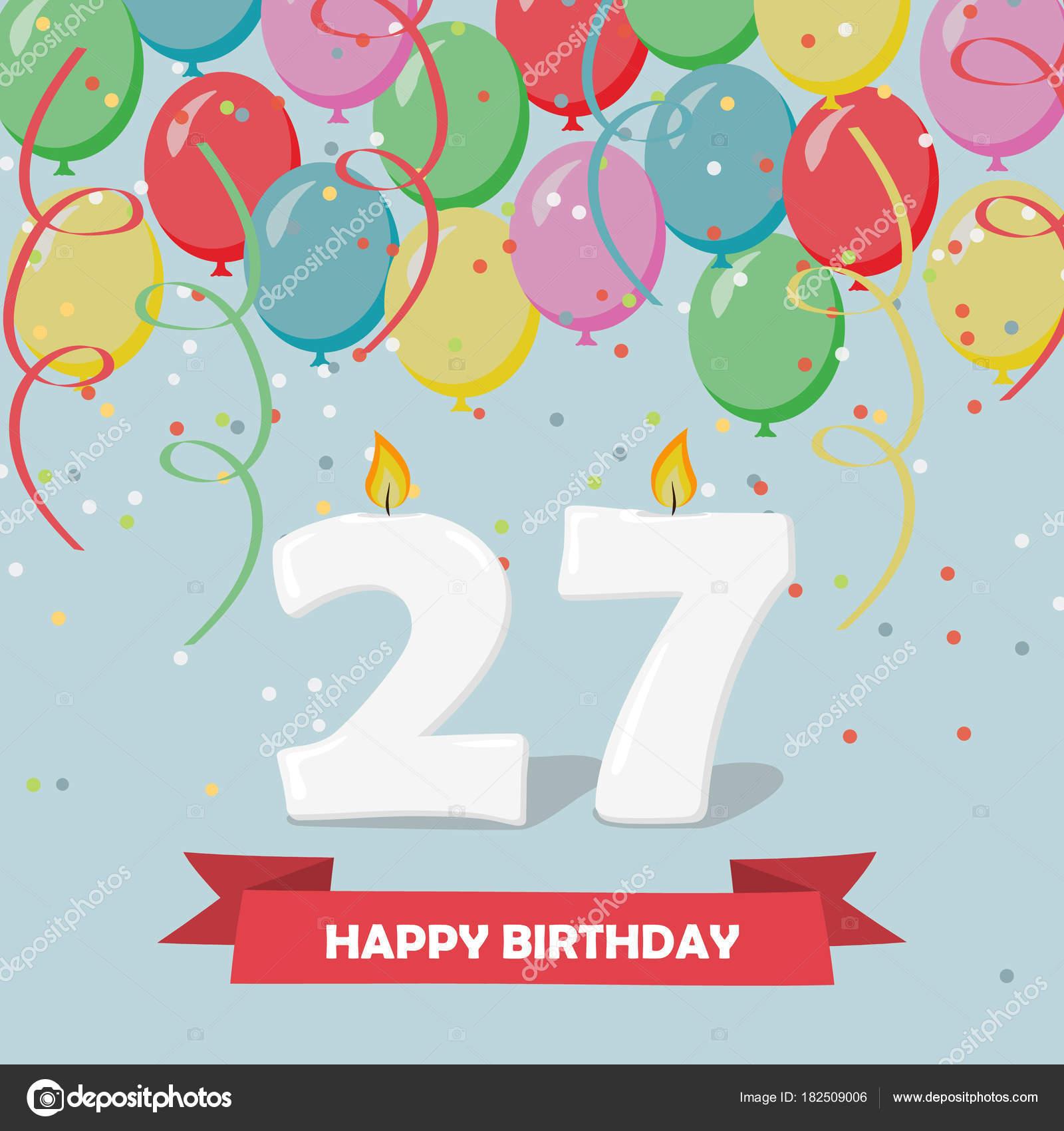 Gelukkige Verjaardag 27 Jaar Archidev