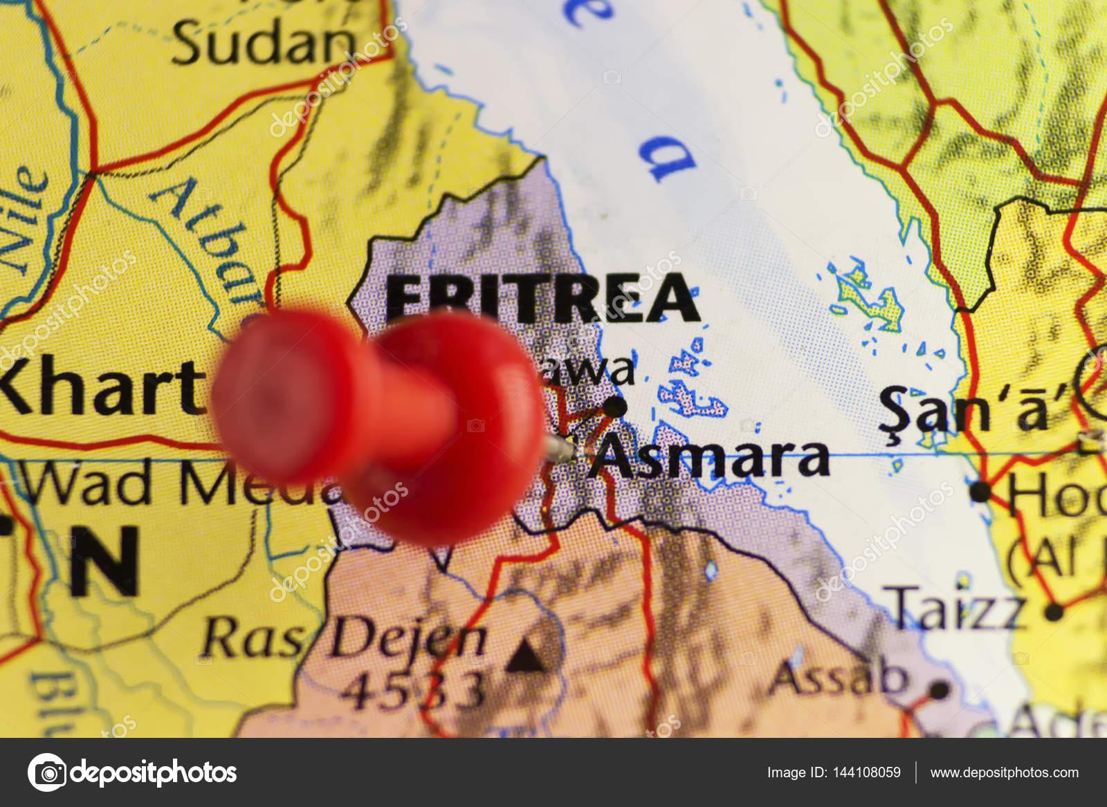 Αποτέλεσμα εικόνας για ερυθραια αφρικη χαρτης