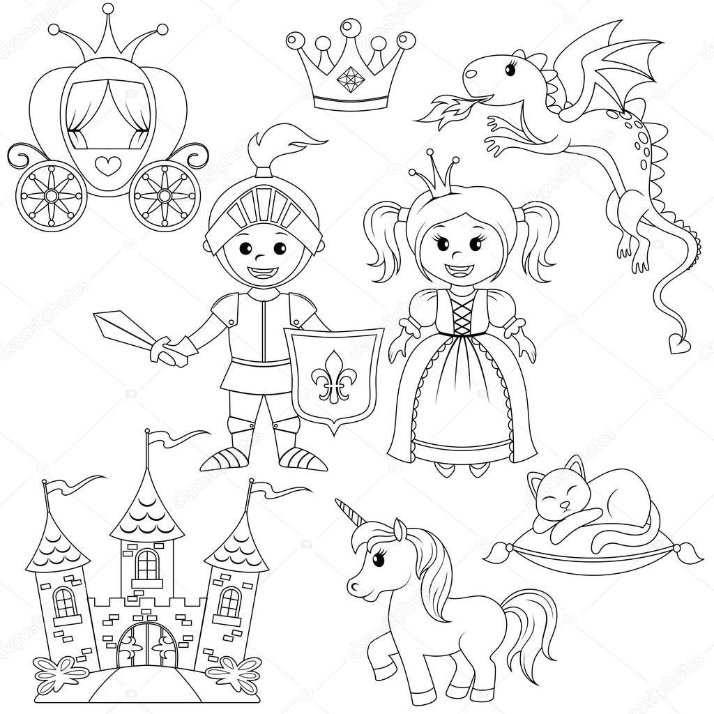 Imágenes: coronas de princesa para colorear | Mariposa, caballero