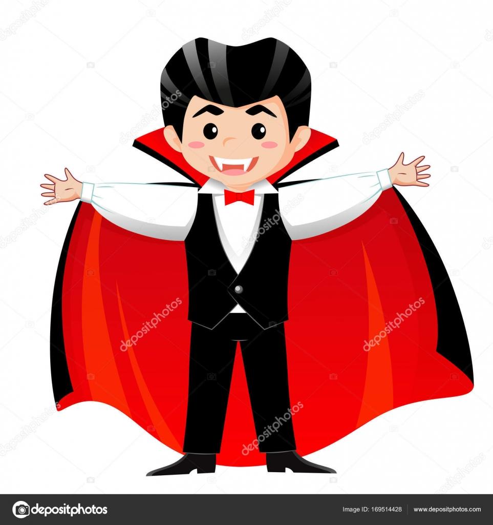Count Dracula. V&ire. Boy in halloween costume u2014 Stock Vector  sc 1 st  Depositphotos & Count Dracula. Vampire. Boy in halloween costume u2014 Stock Vector ...