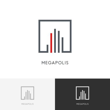 Megapolis city logo