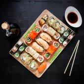 Köstliches Sushi Satz