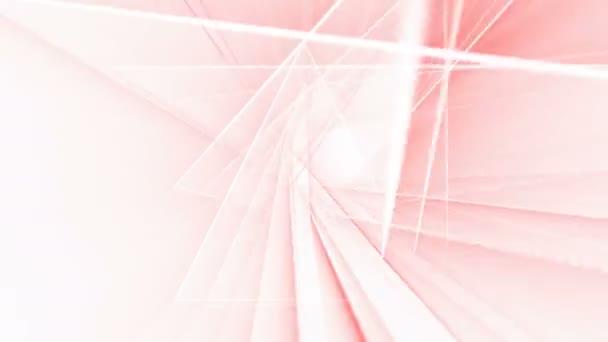 Abstraktní pastelové linky animace na bílém pozadí