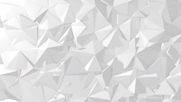 White texture geometric abstract triangle. Seamless loop.