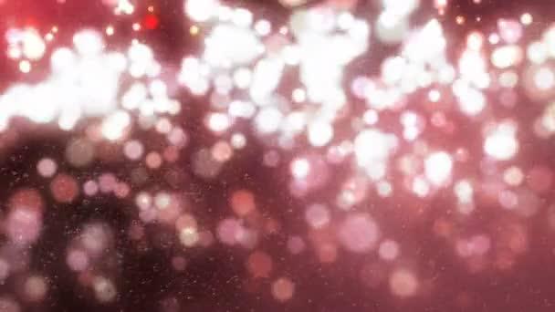 Rózsa arany csillogó ragyog, fényes animáció.