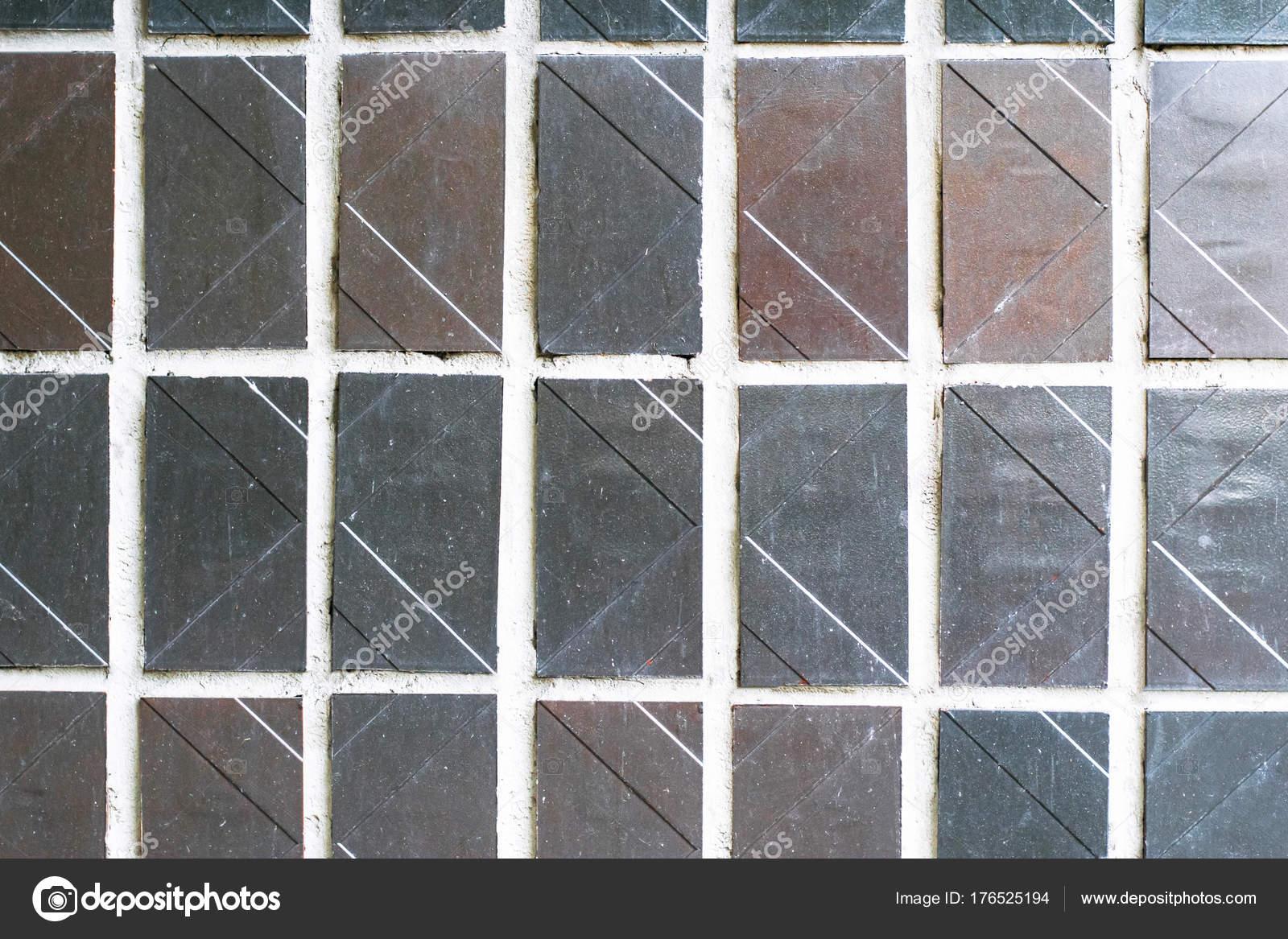 La texture dellornamento decorativo muro di mosaico da piastrelle