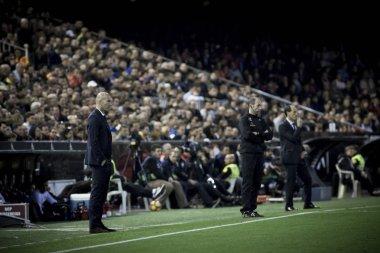 (L) Zidane, (R) Voro during La Liga