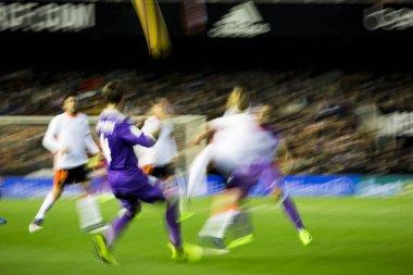 Players during La Liga