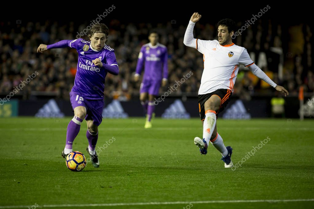 Luka Modric during La Liga