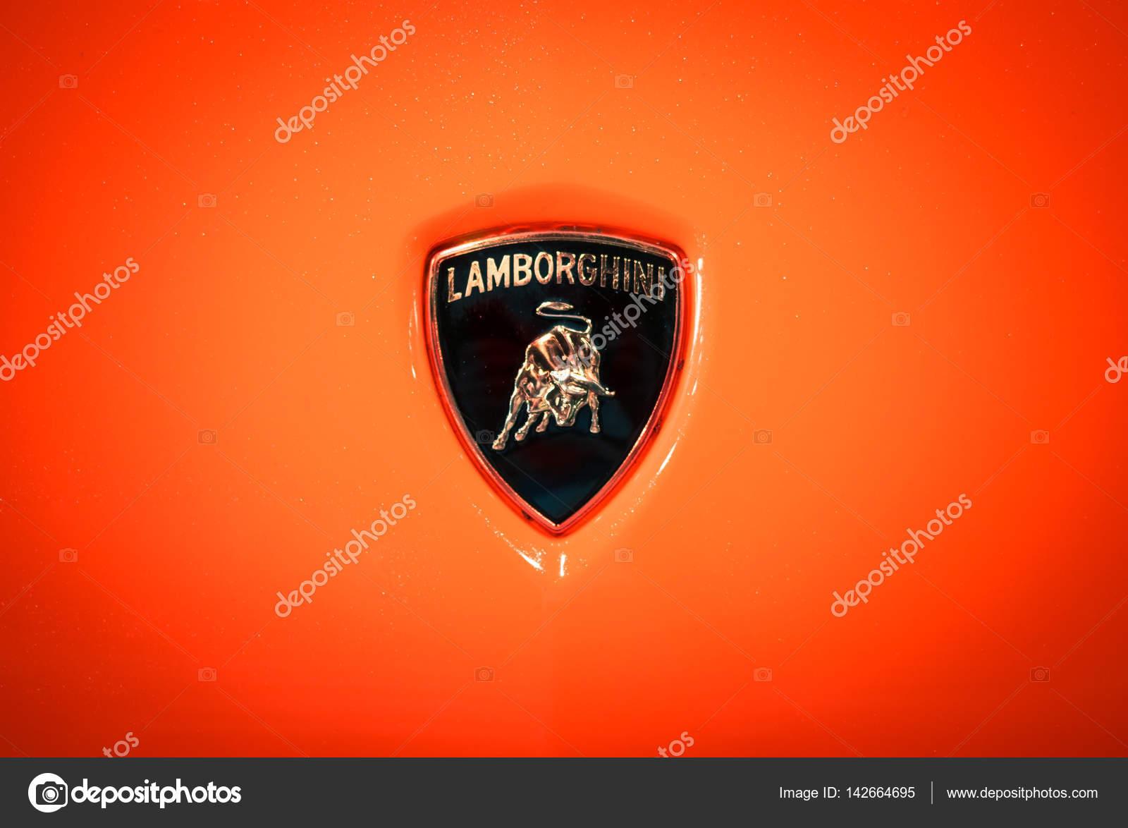 Lamborghini Logo Shows A Bull Or Taurus Stock Editorial Photo