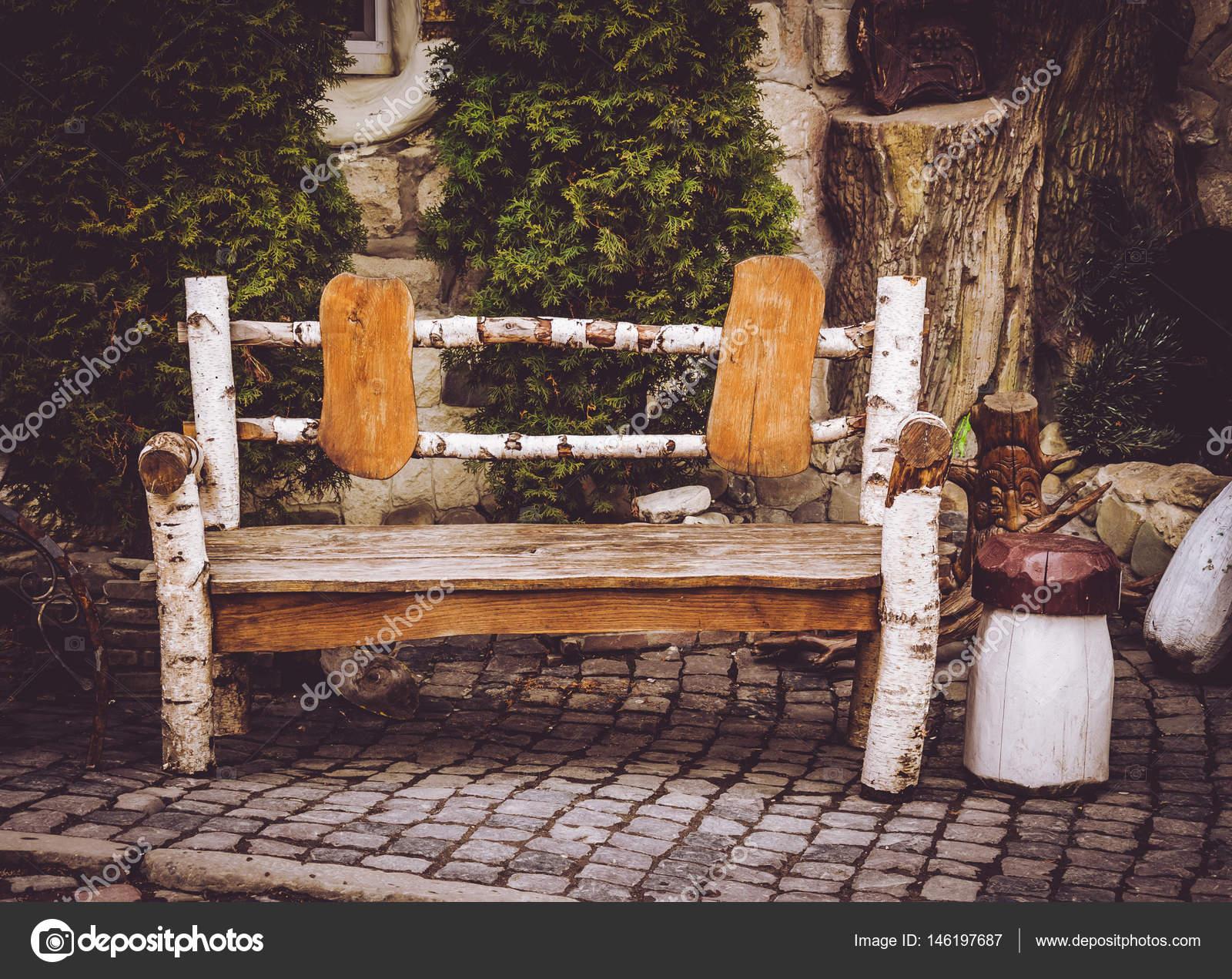 Decorazioni In Legno Per Giardino : Panca da giardino in legno decorativo decorazioni in stile