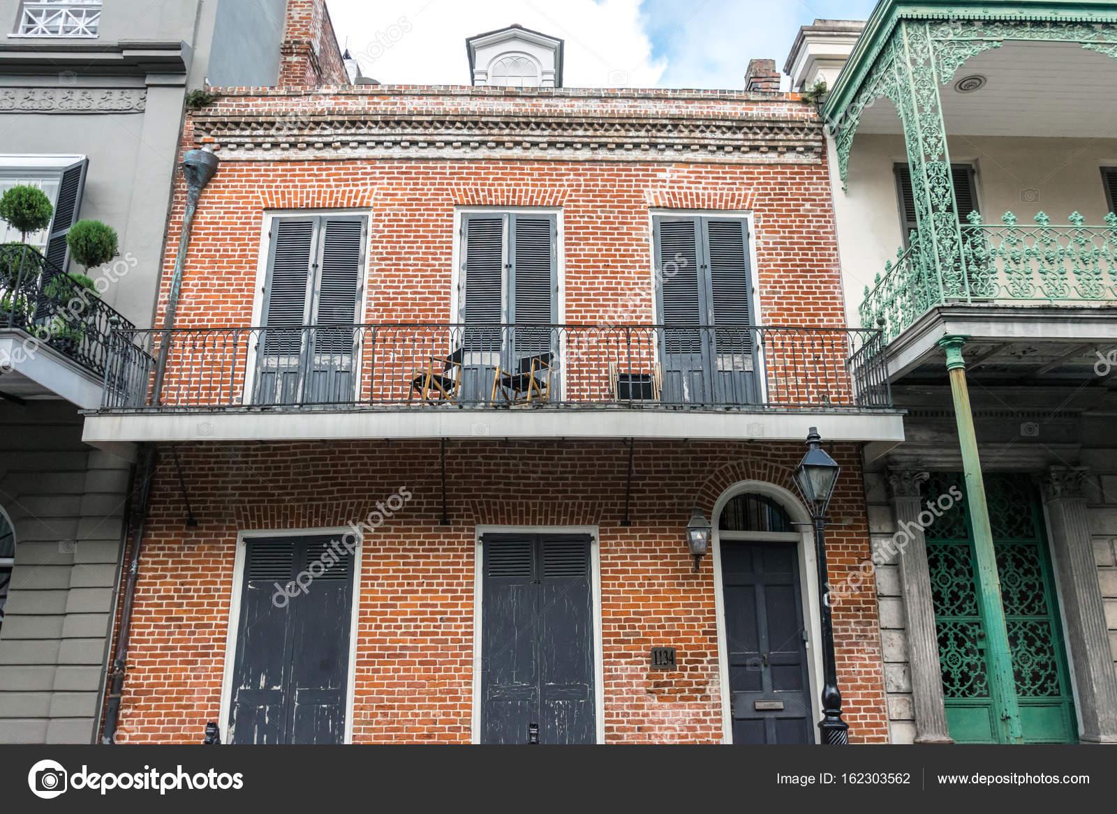 Barrio Frances De Nueva Orleans Casa Embrujada Pintorescas