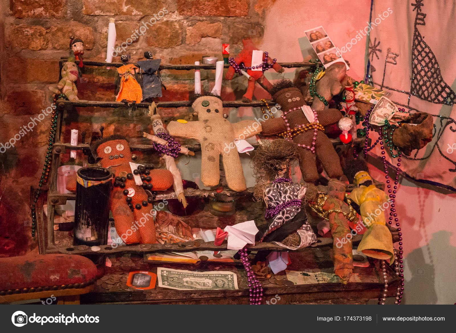 Ritual attributes of voodoo religion  Voodoo dolls and