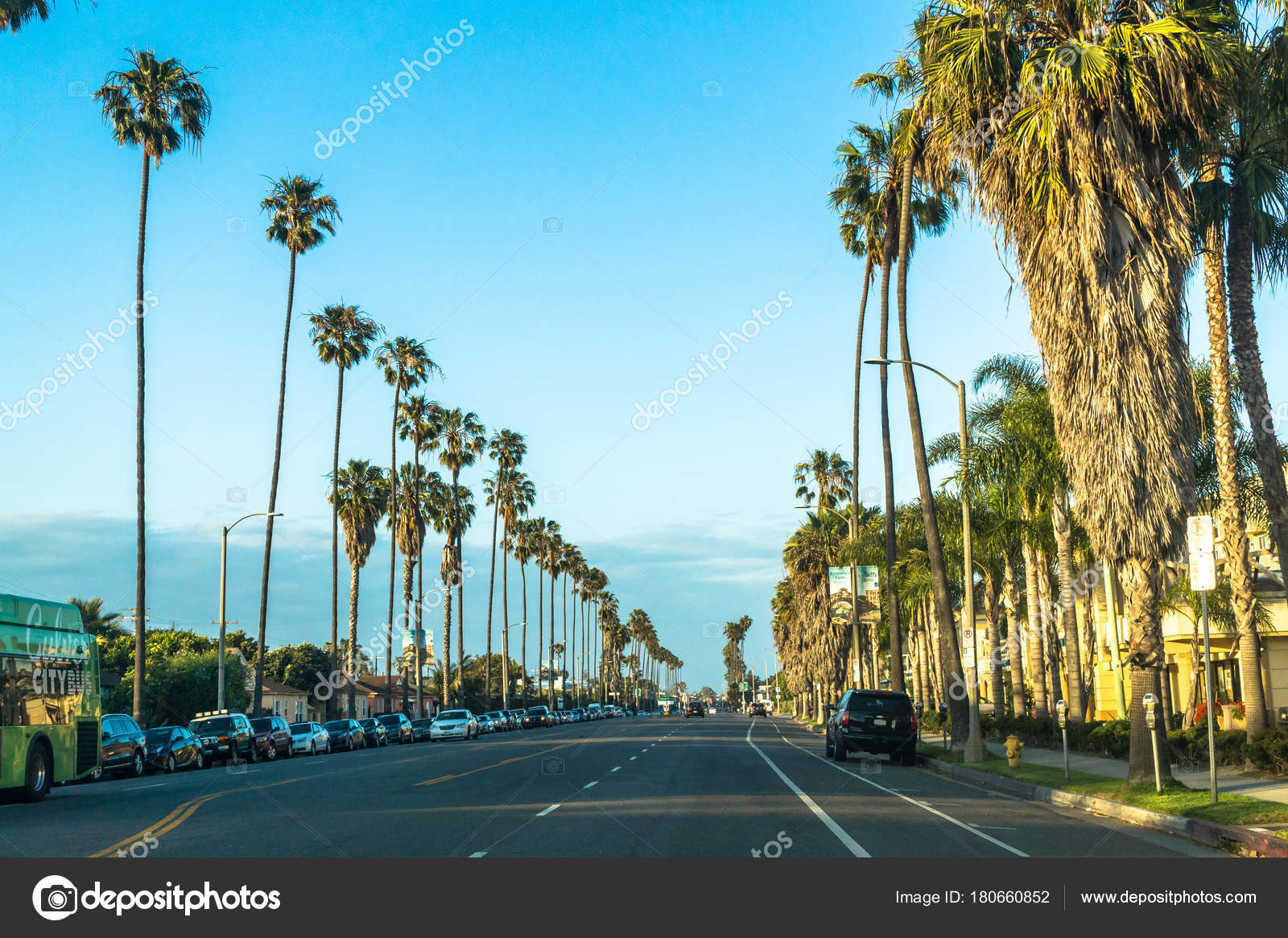 los angeles california usa march 2017 streets los angeles modern