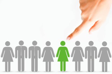 Personnel selection process on human resources department