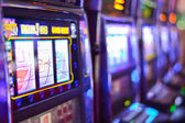 Fotografia Slot machine e dipendenza da gioco dazzardo a Las Vegas