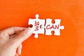 Mi lehet a pozitív üzenetet a puzzle-darabokat