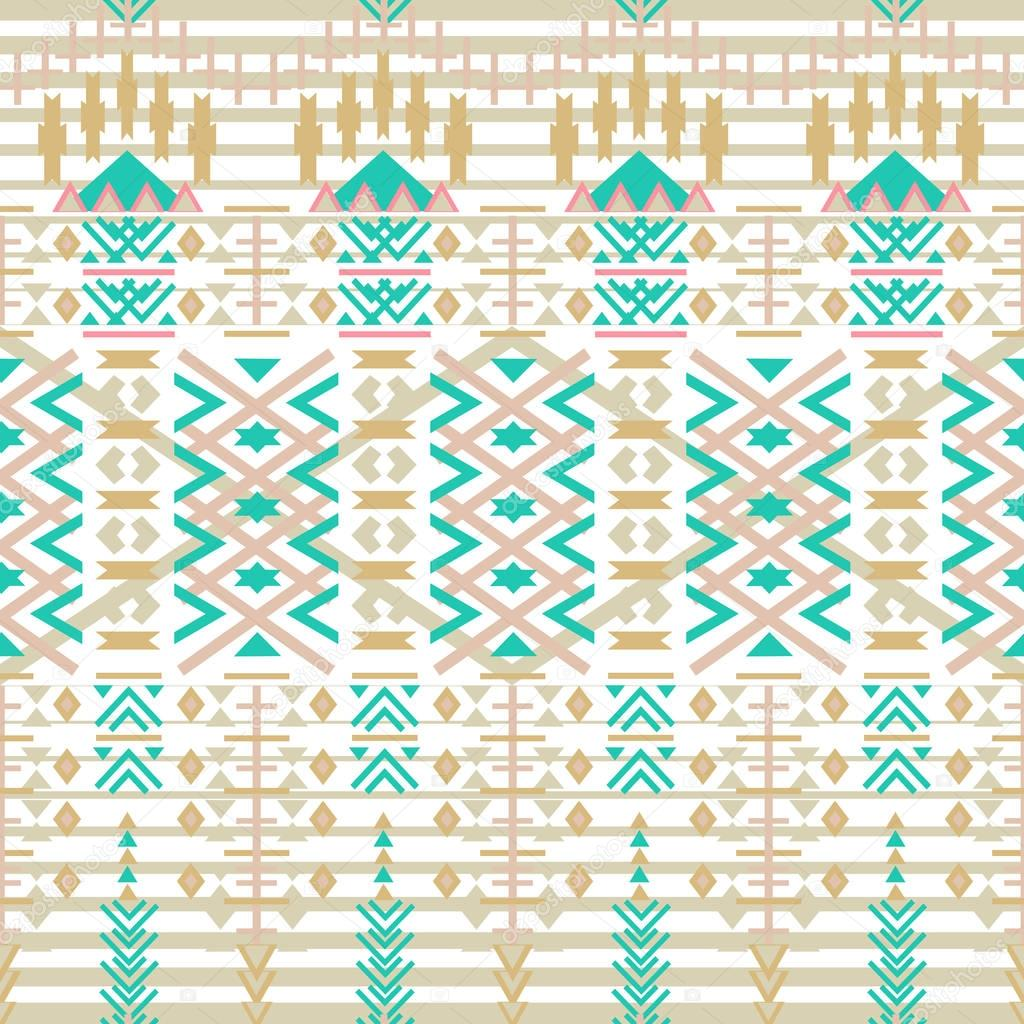 Azteca de patrones sin fisuras. Etnia textura geométrica abstracta ...