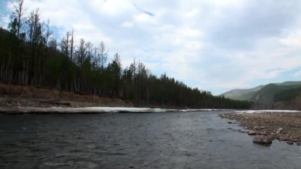 Horské řeky Temnik.