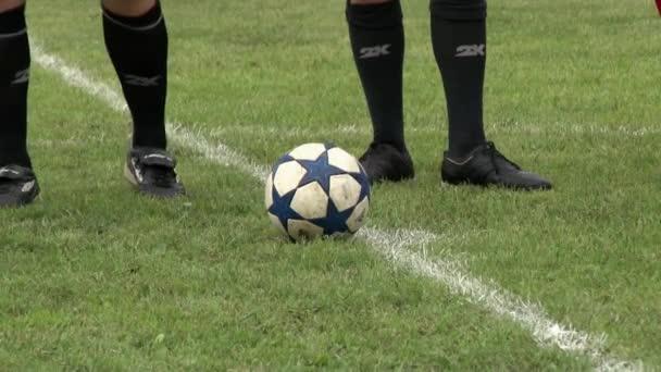 Fußballer machen Spiel bei Firmenveranstaltungen.