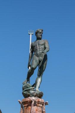 Neptune Bronze Statue with Trident Scepter