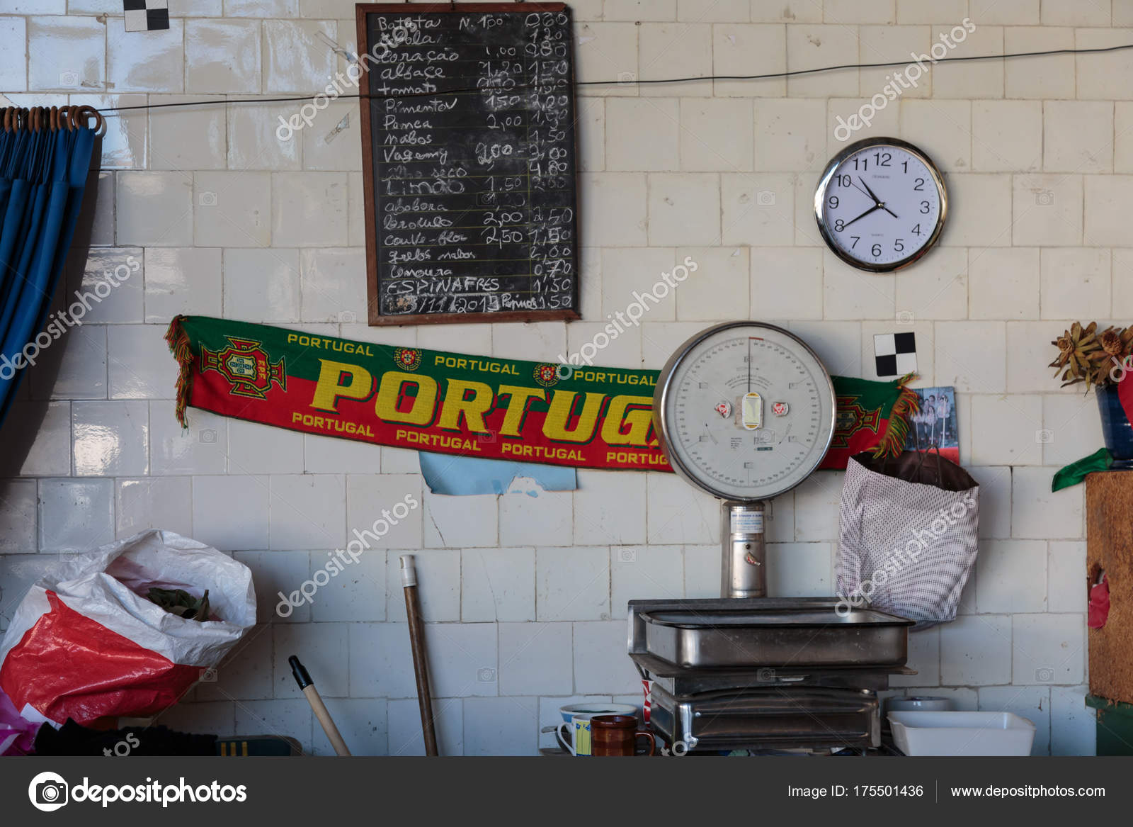 Sciarpa portogallo bilancia alimentare orologio e listino prezzi