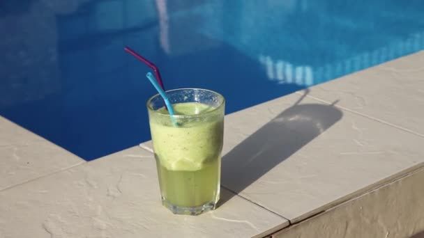 Cocktail Smoothie near pool