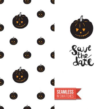 Halloween flat pattern