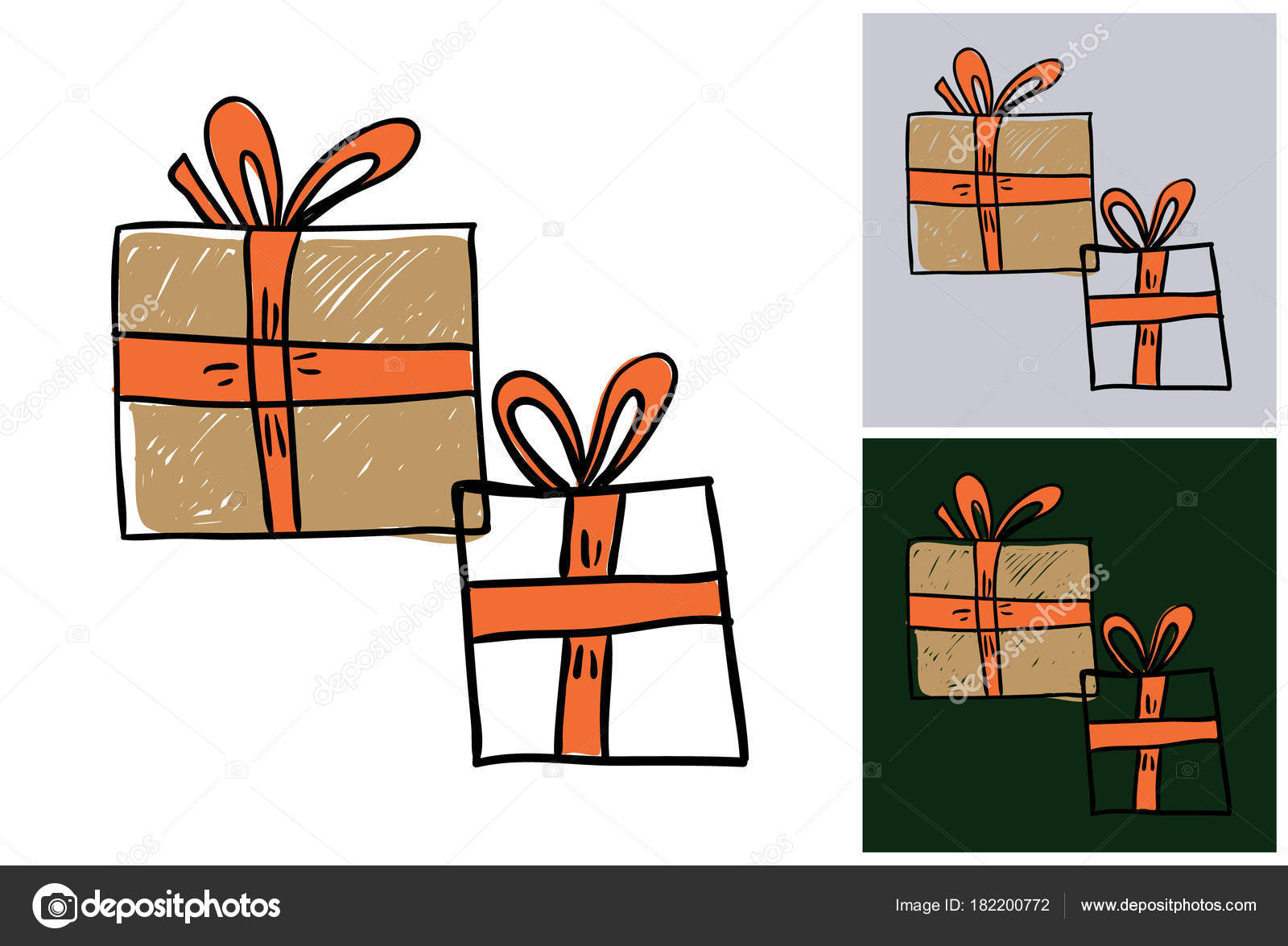 Marry Christmas Card Background Vector Illustration U2014 Stock Vector