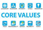 Fotografie Business Core Values Concept