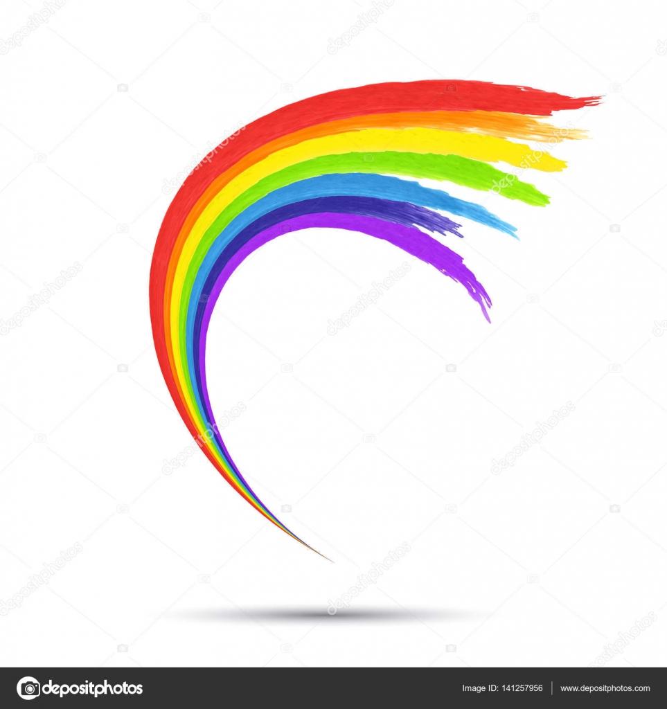 Rainbow logo template Vector shipiolik 141257956 – Rainbow Template