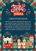 Lateinamerikanischer Feiertag, die Juni-Party brasiliens.