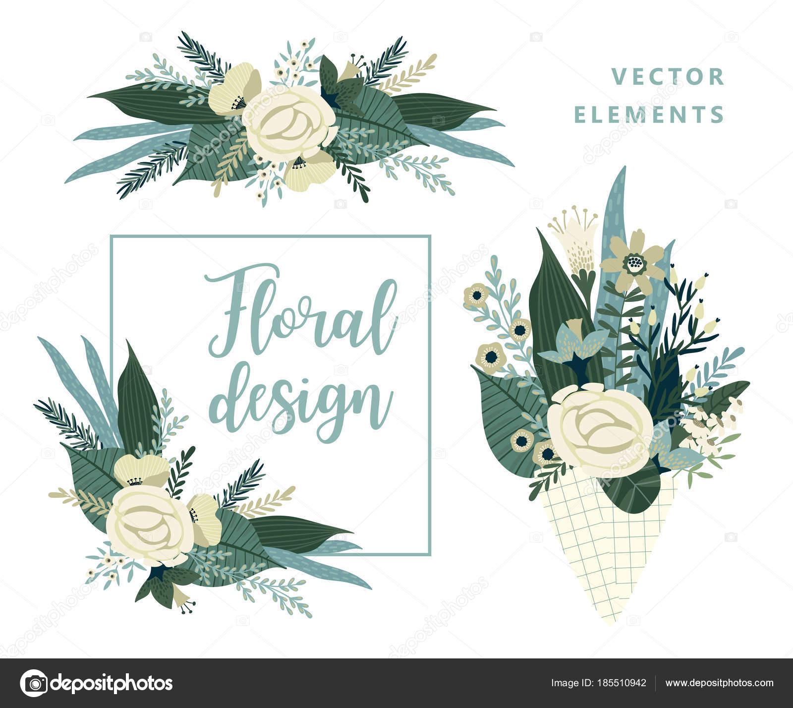 Design Für Karte, Poster, Banner, Einladung, Hochzeit, Gruß Und Andere  Benutzer U2014 Vektor Von Nadezda_Grapes