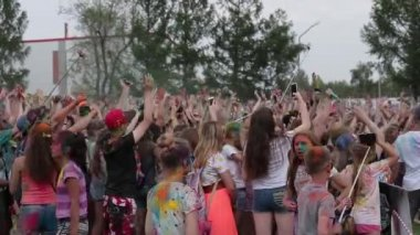 Open Air Colors Festival in Omsk, Russia June 17, 2017
