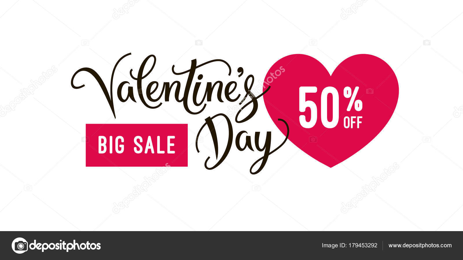 Valentine S Day Big Sale Banner Design Template And Special Offer