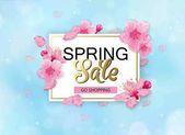 Fényképek Tavaszi eladó háttér virágokat. Évad kedvezmény transzparens-látványtervre cseresznye virágok és szirmok