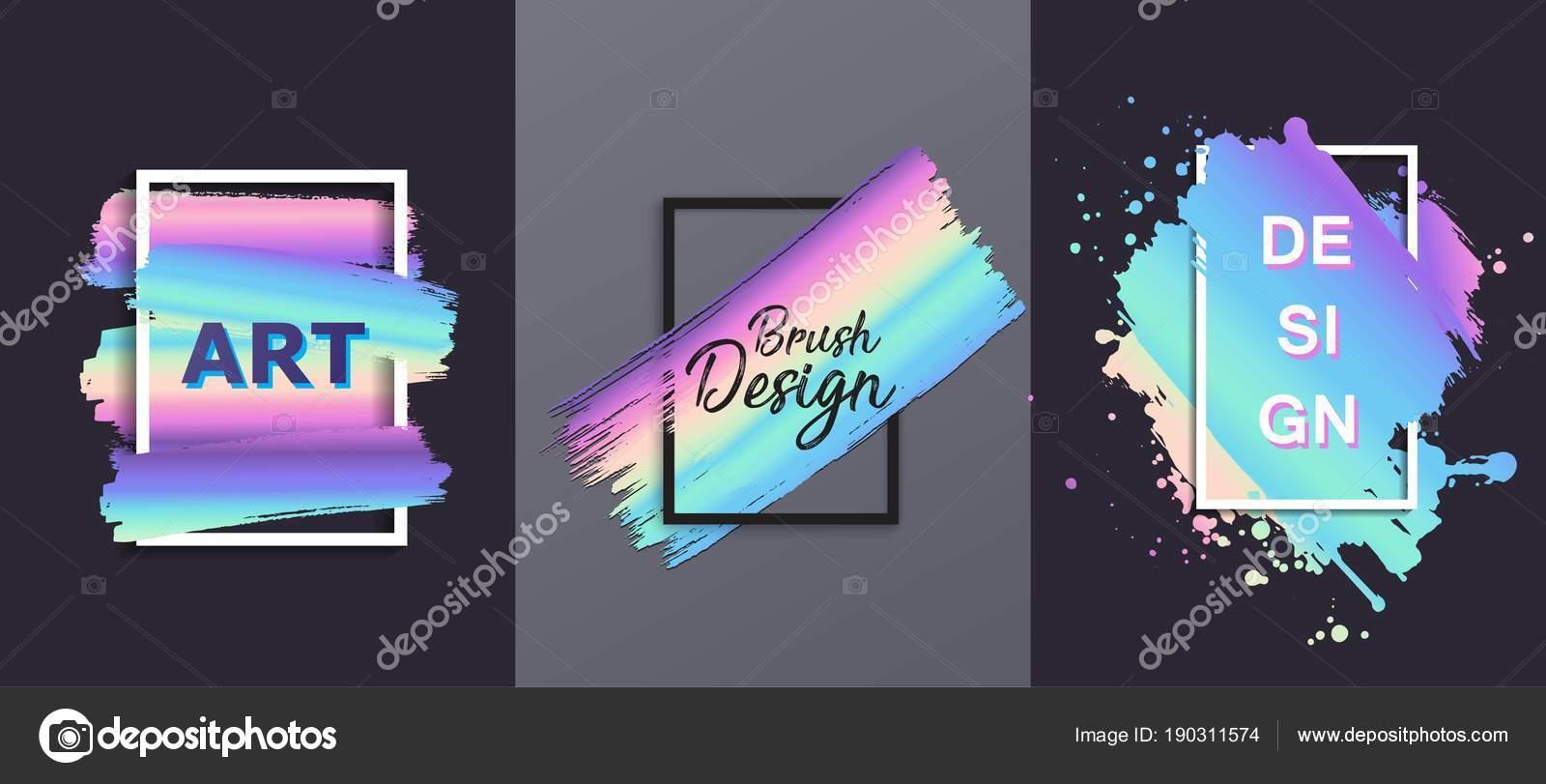 Vektorelement Hand gezeichnete künstlerische Gestaltung, Box, Rahmen ...