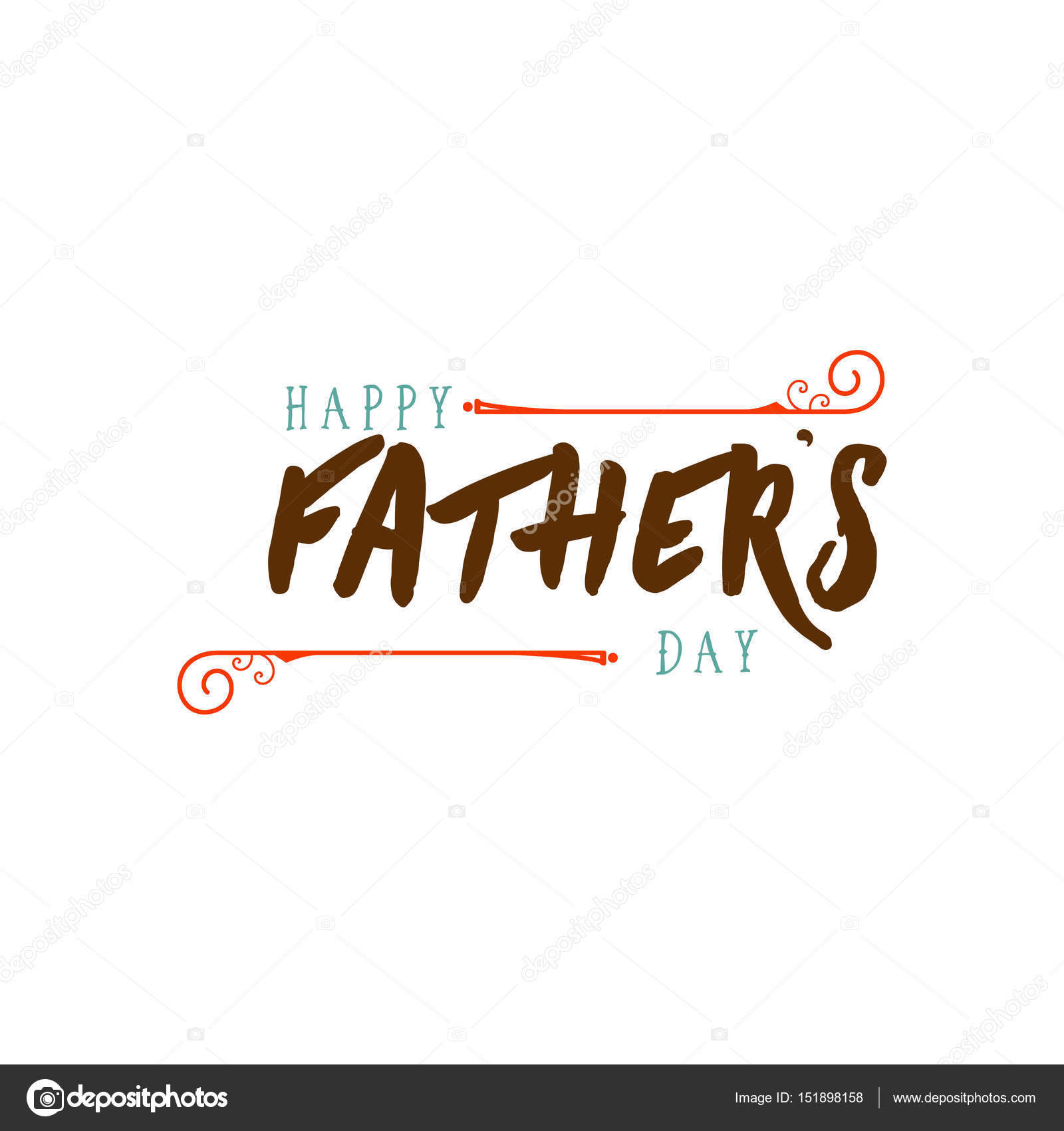 Fathers Day Badge Design Sticker Stamp Logo