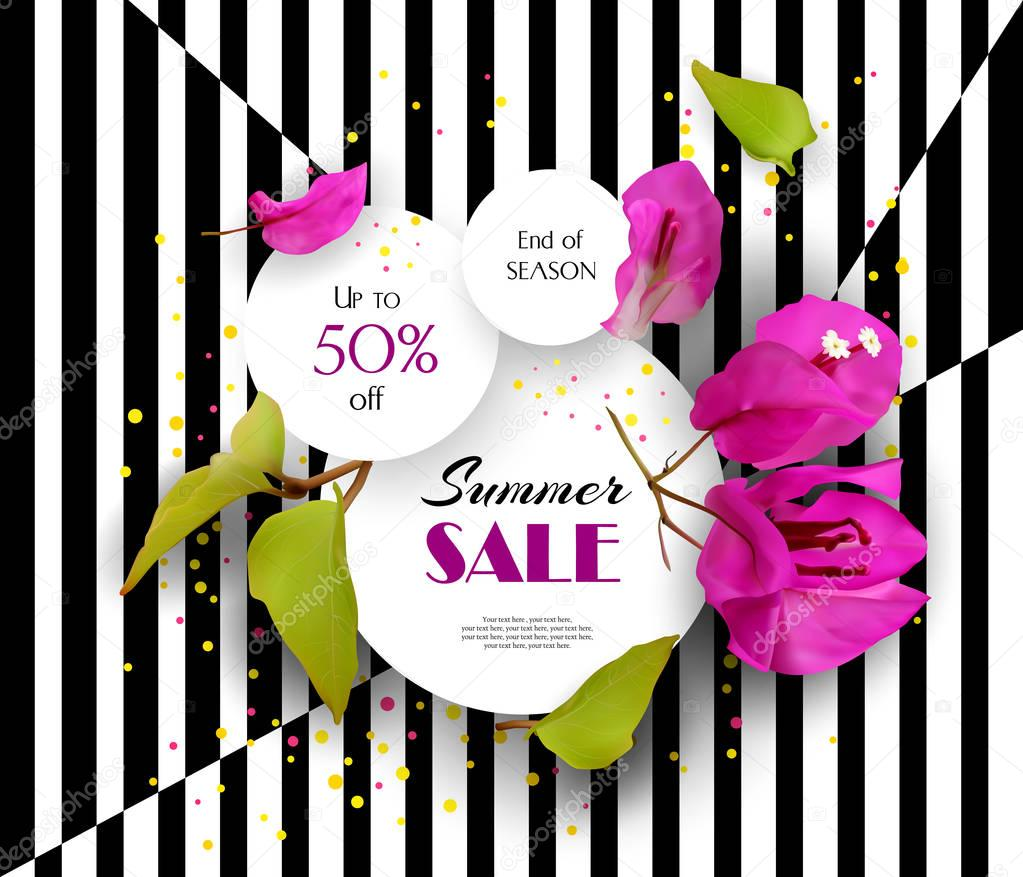 Summer-Sale-Discount-Concept-Tropical-flowers-03