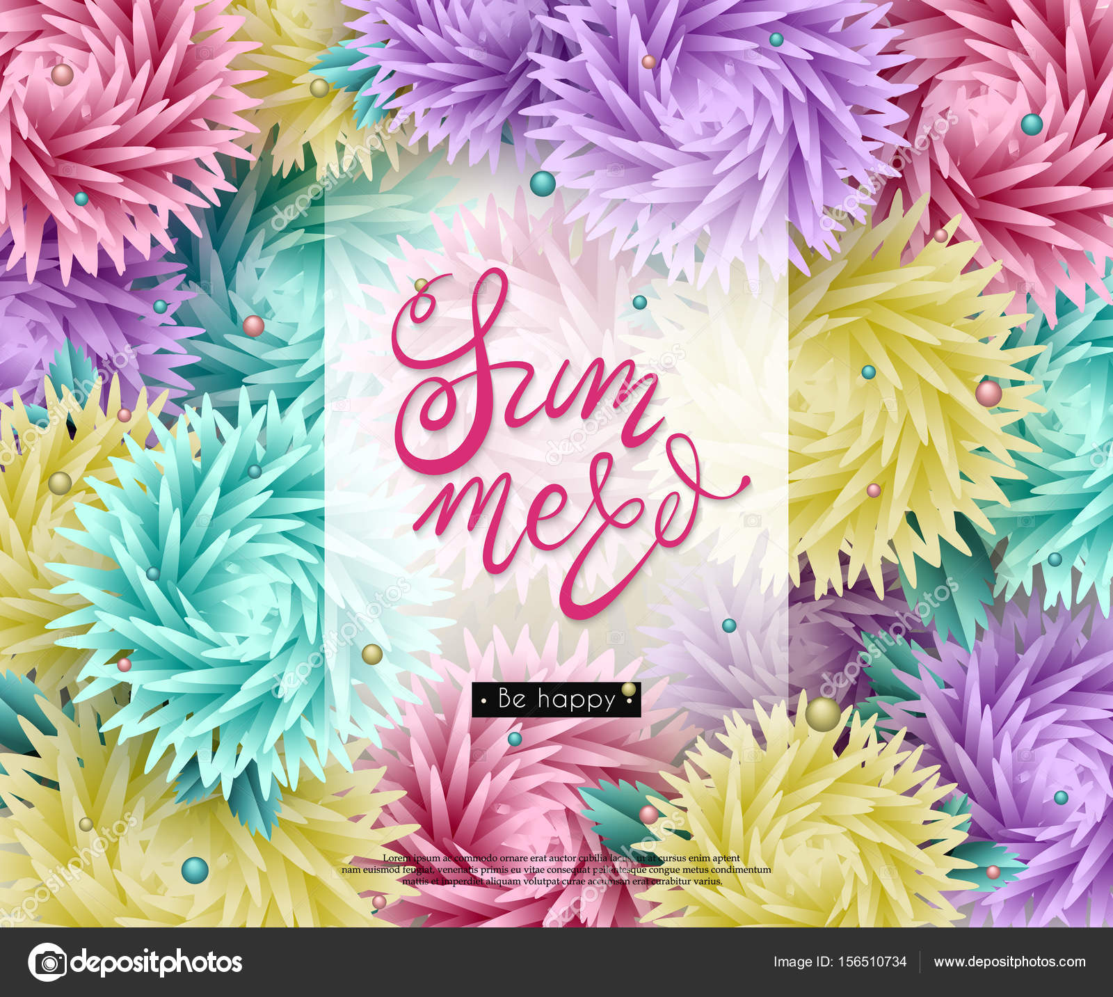 3d flowers paper origami summer 01 stock vector smska 156510734 3d stylized multicolored flowers with leaves on a white background abstract floral origami pattern paper style element for design mightylinksfo