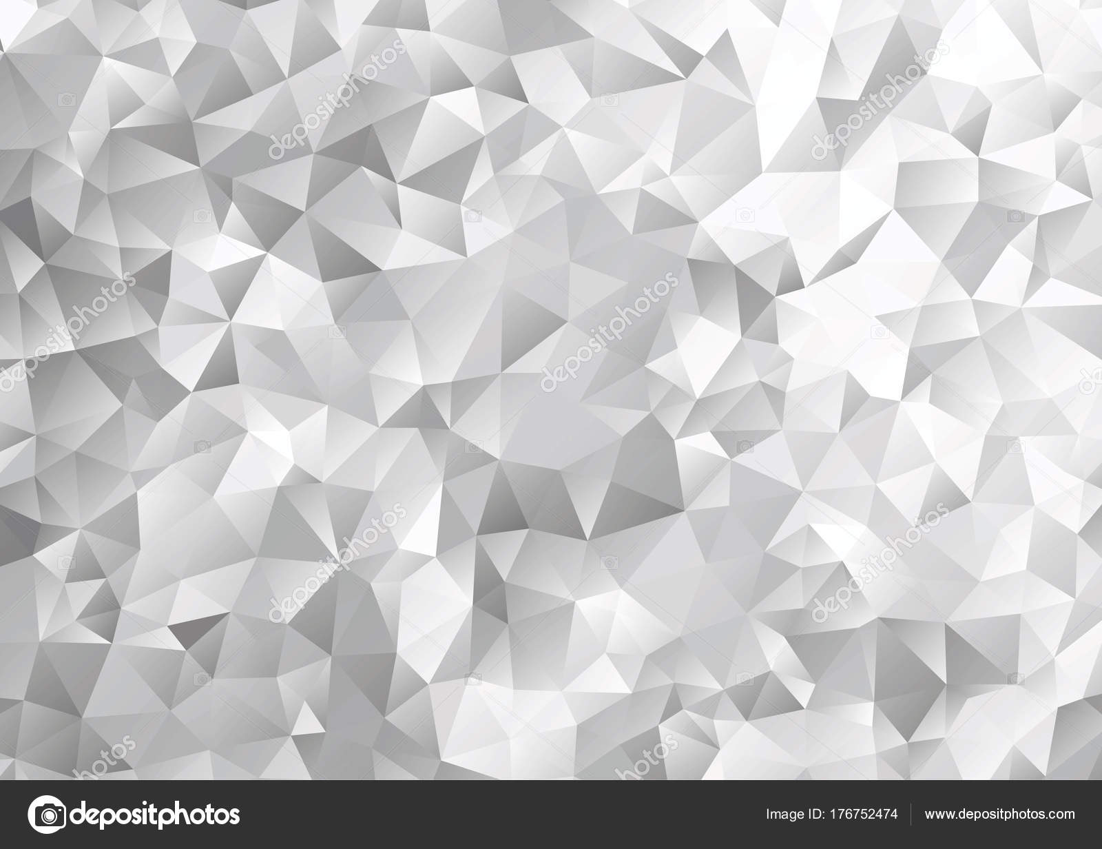 black white geometric pattern triangle polygon design vector