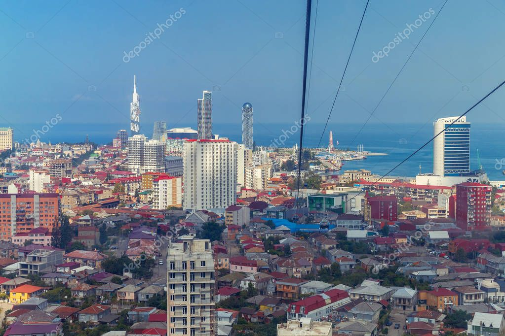 Batumi. Cable car.