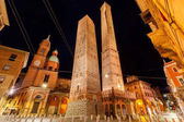 Photo Bologna. The falling towers.