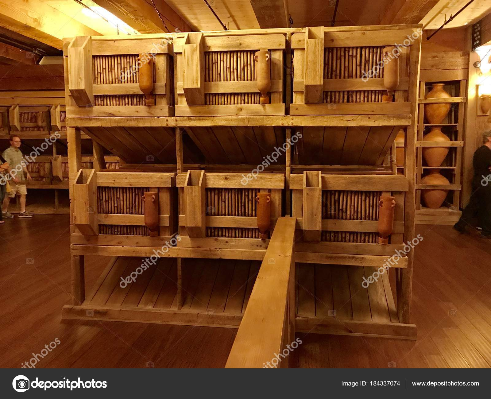 Williamstown Usa November 2017 Animal Cages Noah Ark Replica Ark U2014 Stock  Photo